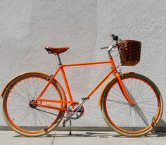 I truly believe you can find a bike in any color on the internet D3 Orange Bike