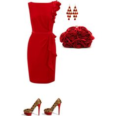 """""""Valentine Simplicity"""" by careyhope1 on Polyvore"""