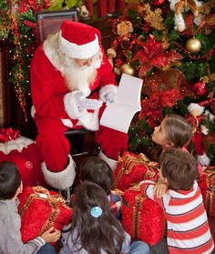 A good Santa not only has warm and sparkly eyes, he'll also talk to your child, and if your little one isn't in the mood for having his pict...
