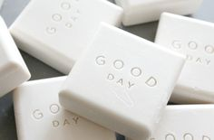 carefully considered | identity and packaging design for good day, a men's skincare line (via http://elephantine.typepad.com/elephantine/2012/02/twas-a-good-day.html)