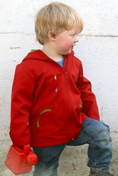 vroem vroem by haa! 3 Year Old Boy, Red Leather, Leather Jacket, Old Boys, Sewing, Fashion, Studded Leather Jacket, Moda, Leather Jackets
