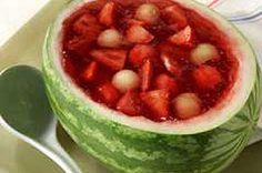 Watermelon Fruit Bowl - Holidays