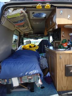 Ford Transit Connect camper conversion.... - alaskandave