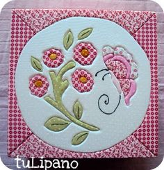 tuLipano crafts: Patch embutido