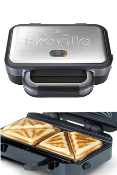 The Breville Deep Fill Sandwich Toaster™ http://www.breville.co.uk/vst041-deep-fill-sandwich-toaster.html