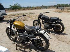 Triumph desert sleds
