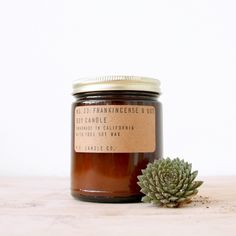 STANDARD 7.2oz FRANKINCENSE & OUD soy candle