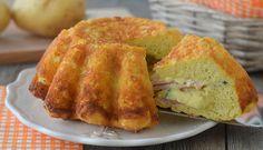 Cake farcie aux courgettes, gruyère et jambon avec Thermomix, une recette délicieuse et facile, avec une préparation qui nécessite très peu de temps.