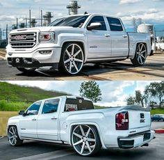 4 Door Trucks, Gm Trucks, Dropped Trucks, Lowered Trucks, Gmc Denali Truck, Custom Pickup Trucks, Lowrider Trucks, Truck Mods, Street Racing Cars