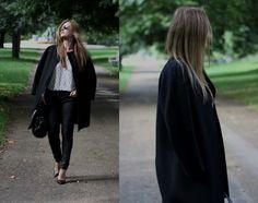 #fall #fashion #style #look #streetstyle #coat #jeans #heels #fashionblogger #london #hydepark