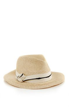 fe49eadc637 Lillian Striped Ribbon Fedora by EUGENIA KIM Now Available on Moda Operandi  Summer Hats