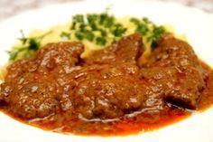 sm - hovädzie mäso v marináde No Salt Recipes, Cooking Recipes, Good Food, Yummy Food, My Favorite Food, Favorite Recipes, Czech Recipes, Hungarian Recipes, Food 52