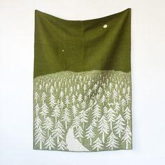 Woolen Woods Throw / Terrain