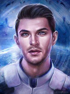 Scott Ryder Mass Effect Andromeda by EvaKosmos.deviantart.com on @DeviantArt
