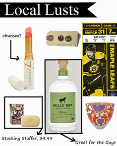 Holiday Gift Guide Vol. 3 - Boston Favorites!