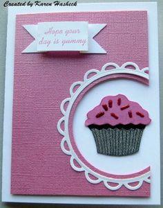 Card created by Karen Hasheck. Rubber stamps by Repeat Impressions. - http://www.repeatimpressions.com/pairings.html - #repeatimpressions #rubberstamps #cardmaking #pairings #bloghop