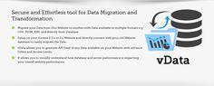 vData - #Data #Management #Tool  http://www.wdmtech.com/vdata-data-management-tool   #Joomla #Migration #Import #Export #CSV #XML #JSON #rssfeed