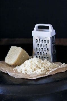 Grateable vegan Parmesan like you've never seen. 5 ingredients and 5 minutes to freshly grated Parmesan every night of the week!
