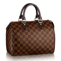 508974008f8d Discover Louis Vuitton Speedy 25 A compact city bag in the elegant canvas  of Damier. The Speedy 25 brings a touch of chic to any outfit.