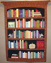 Bookshelf Quilt - PAPER PIECING PATTERN | Paper piecing patterns ... : quilt bookshelf - Adamdwight.com