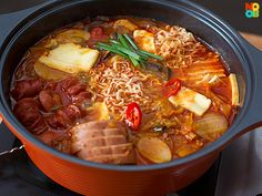 Budae Jigae (Korean Army Stew) Recipe