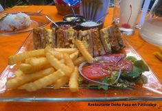 Club Sandwich en Restaurante Doña Paca en Pátzcuaro