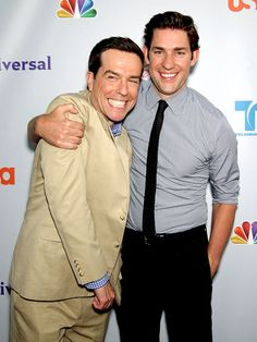 ed helms & john krasinski from the office :)