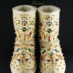 Glamorous Uggs With Studs | SHOES SHOES SHOES | Pinterest | Uggs ...