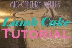 Who is ready to eat some lamb cake???? It's time for everyone to dust off their lamb and rabbit pans and get ready to make some molded cakes! To help you out, I've pulled together this post to make su