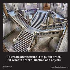 """To create architecture is to put in order ...."" #architect #quotes"