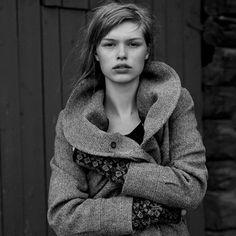 texture and pattern from Swedish fashion brand, Nygårdsanna. Beautiful fashion + stunning photography!