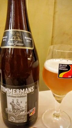 Timmermans Oud Gueuze Lambic Limited Edition. Watch the video Beer review here…