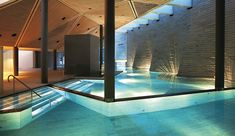 cool Adorable Indoor Pool And Spa Design Ideas You Never Seen Before Pool Spa, Hotel Pool, Spa Design, Design Ideas, Mario Botta, Luxury Swimming Pools, Dream Pools, Indoor Swimming Pools, Luxury Spa