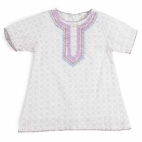Voile Embroidery Dress