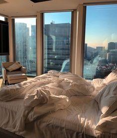 Apartment View, Dream Apartment, York Apartment, Dream Rooms, Dream Bedroom, City Bedroom, Bedroom Bed, Dream Home Design, My Dream Home