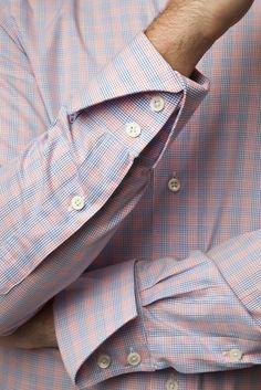 12 Useful Tips about Men's Fashion Formal Shirts For Men, Men Formal, Casual Shirts, Bespoke Clothing, Mens Clothing Styles, Bespoke Shirts, French Cuff Shirt Men, Gents Shirts, Shirt Tie Combo