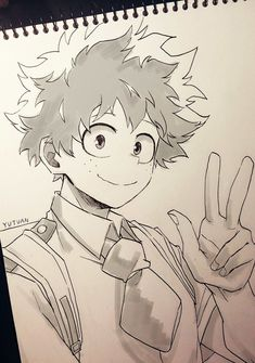 Deku the cutest character on this anime BokuNoHeroAcademyYou can find Character sketches and more on our website.Deku the cutest character on this anime BokuNoHeroAcademy Anime Character Drawing, Manga Drawing, Manga Art, Character Art, Anime Art, Character Sketches, Anime Drawings Sketches, Anime Sketch, Cute Drawings