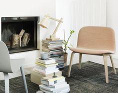 Stolní lampa Wood Lamp od Muuto, bílá | DesignVille