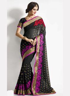 Hypnotic Designer Saree For Wedding