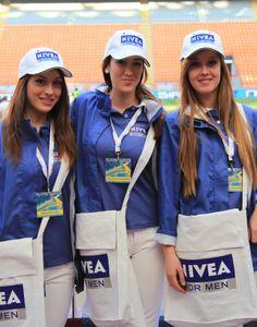 Le nostre hostess per Nivea