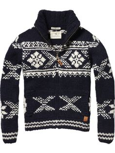 Scotch & Soda + Winter favorites. I must have this sweater!