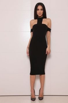 ABYSS BY ABBY COBA DRESS  Made from a premium stretch-jersey fabric Back zipper Lined Model is wearing size XS an is 5'7 Designed and Made in Australia