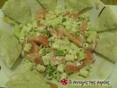 Ζυμαρικά με σάλτσα ταχίνι Guacamole, Potato Salad, Mexican, Ethnic Recipes, Food, Yummy Yummy, Meals, Yemek, Eten