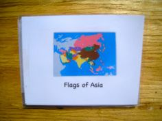 What DID we do all day? : Downloads - flag booklet to go with pin maps