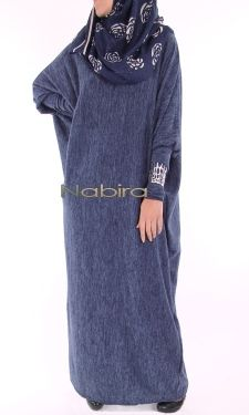 Hot and class Butterfly velvet dress Hijab Wear, Hijab Dress, Hijab Outfit, Abaya Mode, Mode Hijab, Abaya Designs, Abaya Fashion, Modest Fashion, Moslem Fashion