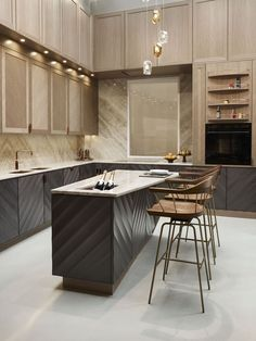 46 Beautiful Luxury Kitchen Design Ideas To Get Elegant Look - In the event that you imagined that luxury kitchen cupboards are just the benefit of the rich, first-class and superstars you're mixed up. Luxury Kitchens, Kitchen Decor, Contemporary Kitchen, Kitchen Cupboards, Kitchen Cabinet Colors, Modern Kitchen Design, Best Kitchen Designs, Kitchen Renovation, Luxury Kitchen Design