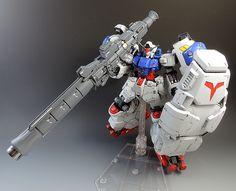 MG 1/100 Gundam GP02 Physalis - Customized Build Modeled by kicksnare