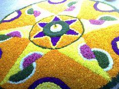 Floral decoration-Onam by Arun Kumar Sinha, via Flickr