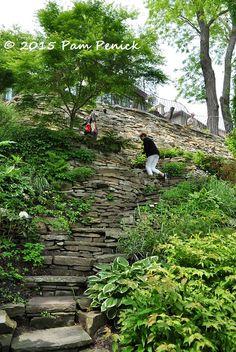 Hillside Swansea gardens: Toronto Garden Bloggers Fling | Digging