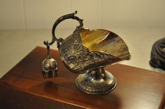Sugar Scuttle, Silverplate by VintageRevisitedWA on Etsy